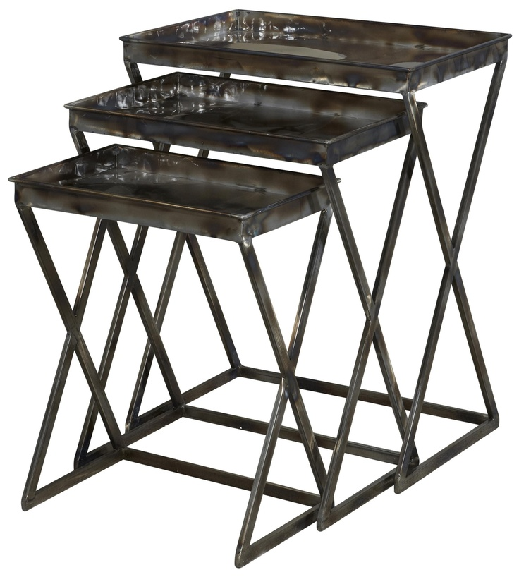 Miscellaneous Metal Nesting Tables by Powell