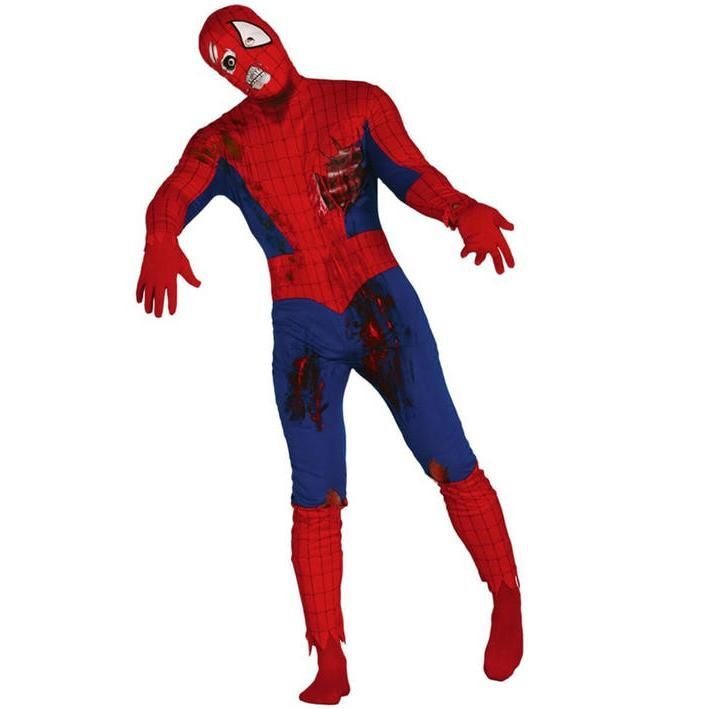 Disfraz de hombre araña zombie para hombre