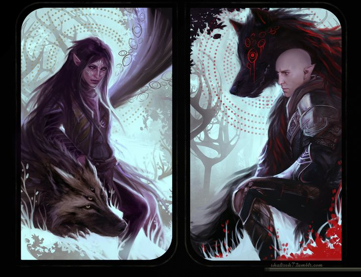 shalizeh7:  Done a Solas card in addition to my Lavellan - still playing with the idea of old Fen'Harel vs new Fen'Harel (beating Solas at his own game as Lavellan is just such an interesting idea to me).