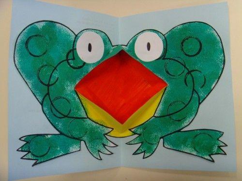 Vous avez certainement dû en entendre parler depuis quelques temps... la voici enfin, la chanson de la grenouille à grande bouche . Pour illustrer notre cahier de chants, nous avons nous aussi réalisé une grenouille à grande bouche (comme dans notre album...