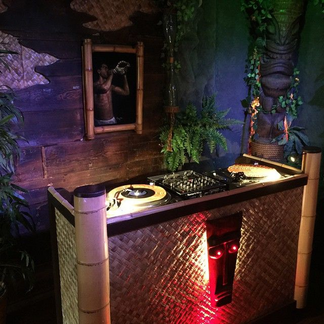 DJ Booth By Atown Agency For Forbidden Island Alameda CA