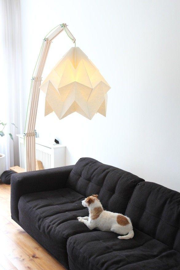 origami lampen | http://www.woonschrift.nl/origami-lampen/