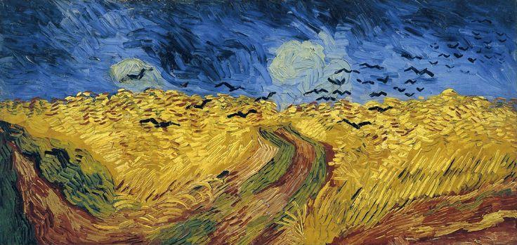 Пшеничное поле с воронами | Искусство Ван Гога