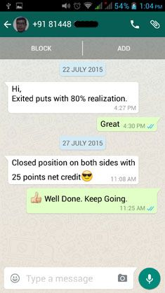 WhatsApp Testimonial Menon