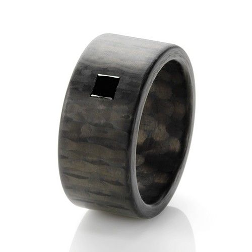 C6 Princess Black 8mm Ring Exclusively Available @ Campbell Jewellers Donnybrook & Citywest Dublin Ireland