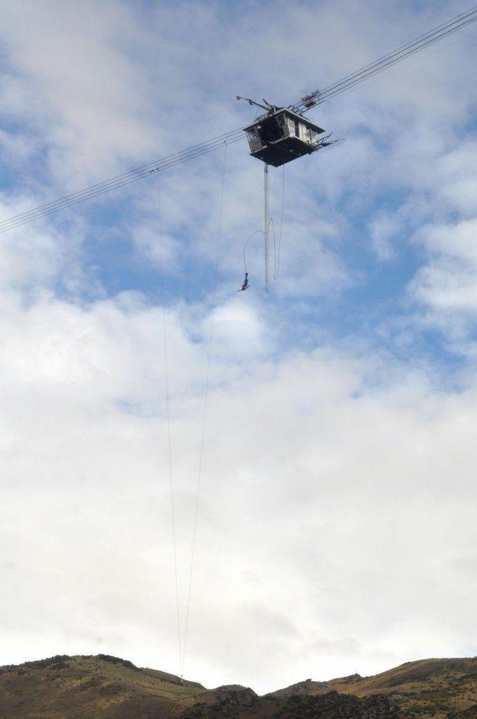 Saut à l'élastique le plus haut d'Océanie, le Nevis, un saut très impressionnant, parfait pour les grands amateurs d'adrénaline!