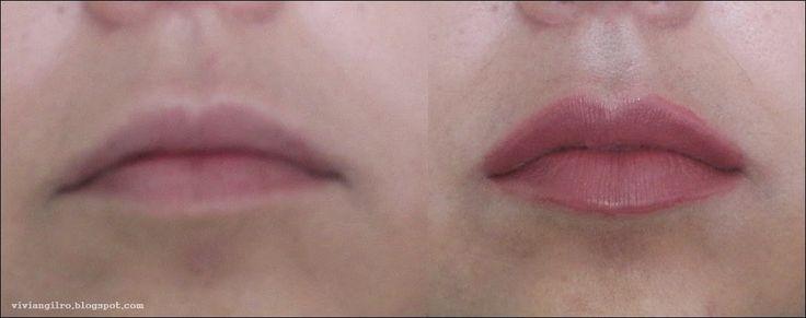 Labios gruesos con maquillaje en http://viviangilro.blogspot.com/2015/03/labios-gruesos-con-maquillaje.html