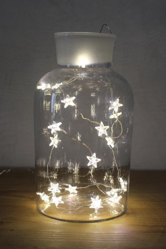 """Image of Guirlande lumineuse à led étoiles """"dernière pièce"""""""