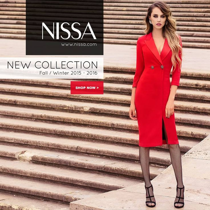 #nissa #new #collection #TI2015 #fw2015 #newcollection #fashion #fashionista #dress #now #in #stores #shop #red #style #outdoor #mood  www.nissa.com