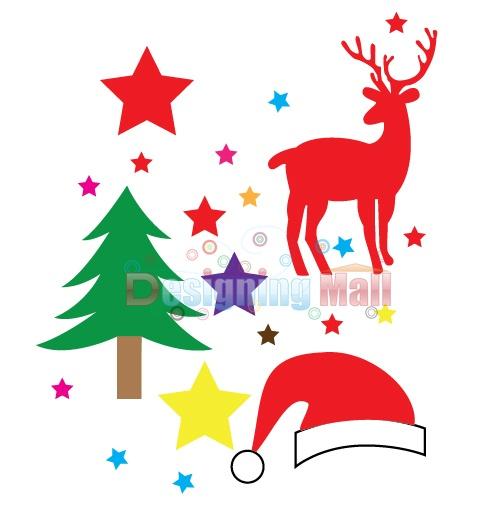 Christmas Pattern In Illustrator
