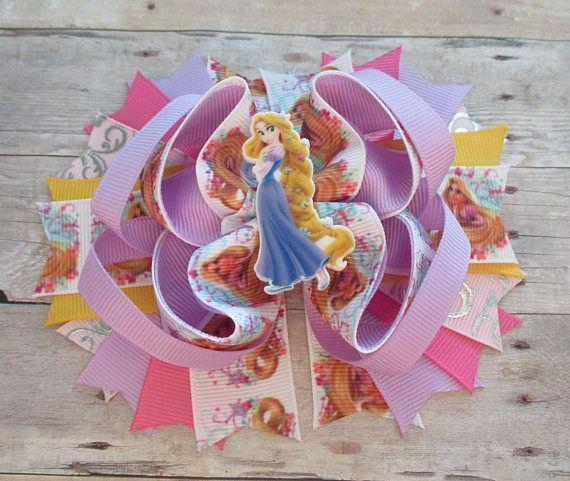 Arco del pelo de Rapunzel arco del pelo enredado chica pelo