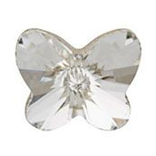 CLEAR CRYSTAL BUTTERFLY  www.mycharminglockets.ca  #SHD #southhilldesigns @byjanehedges
