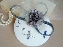 fascinator with birds