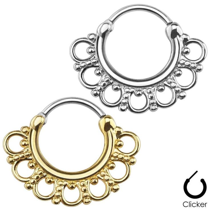 15 best nose jewelry images on Pinterest | Nose hoop, Nose jewelry ...