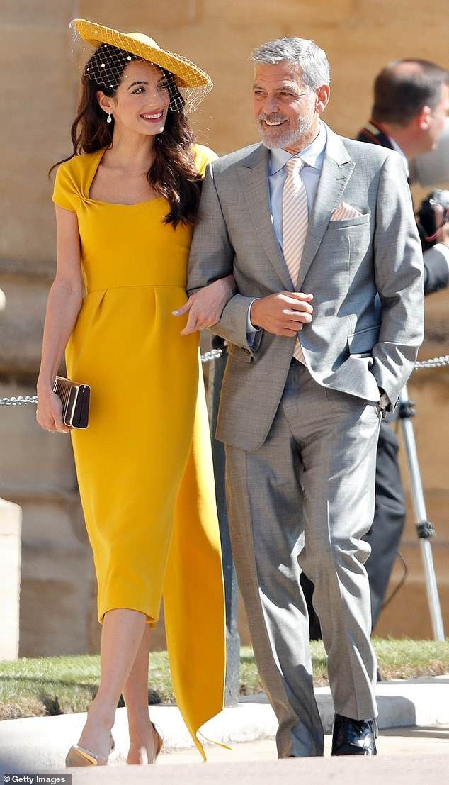 a4417e3e3754 has swapped late-night partying with his society chums for long walks in  the country with his new wife and close friends including George and Amal  Clooney ...