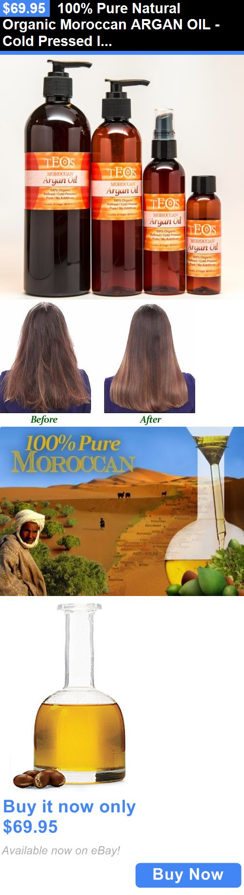 Relaxers and Straightening Prod: 100% Pure Natural Organic Moroccan Argan Oil -Cold Pressed Imported From Morocco BUY IT NOW ONLY: $69.95