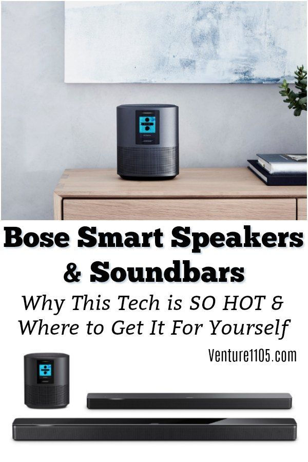 Bose Smart Speakers and Sound Bar - Where to Get Them | Technology