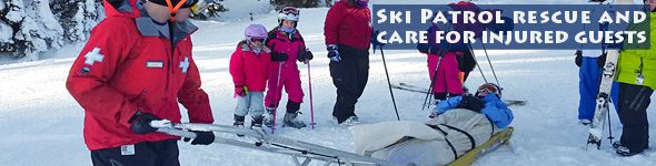 Ski Patrol are the heroes of the mountain!