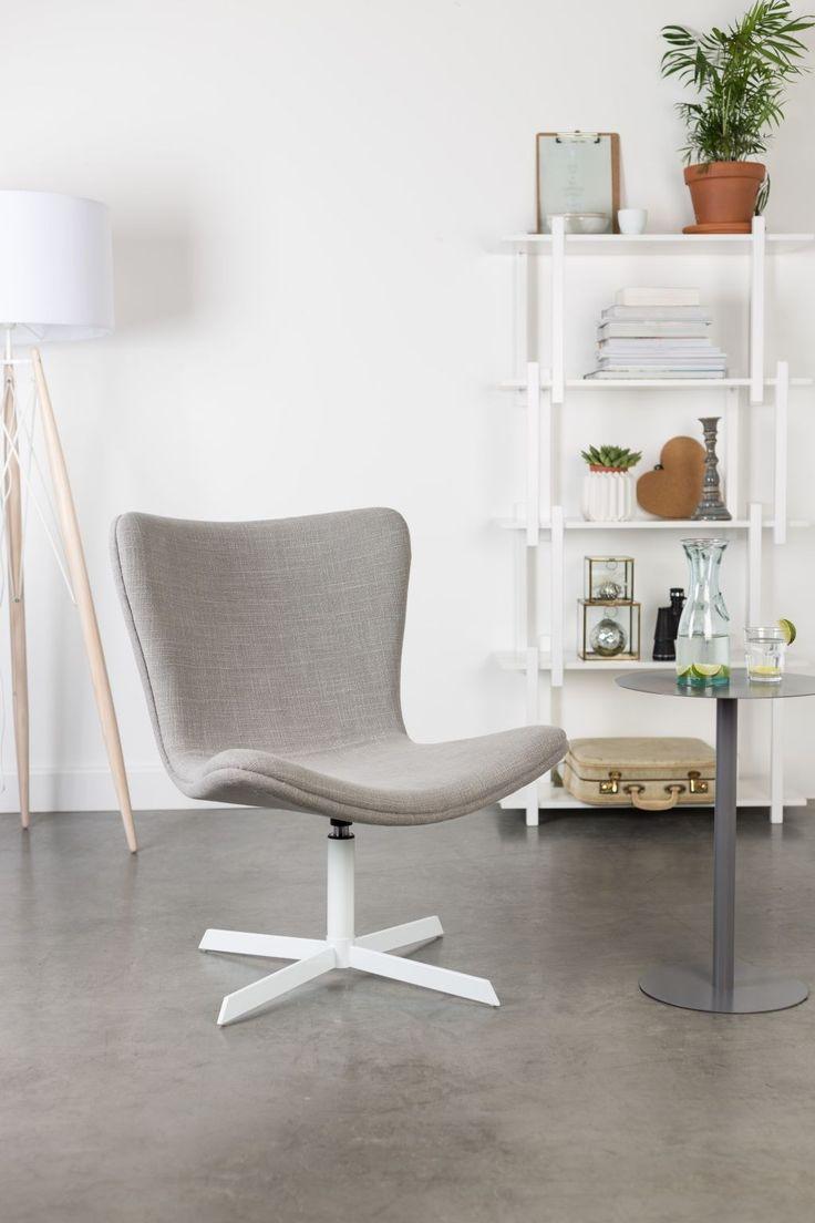 Kjell lounge fauteuil grijs - Robin Design