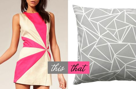 Triangle cushion / Oh Joy!