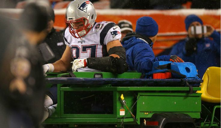 NFL: Rob Gronkowski Injured As New England Patriots Lose To Denver Broncos