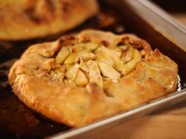 This one is for you Stacie.  The Pioneer Woman's Flat Apple Pie with Perfect Pie Crust.  I like it even better with peaches.  It is great for a meal on the go or a Girl Scout overnight.  and PS, I cheat and use a store bought pie crust.