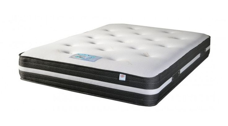 5ft Zara Latex Pocket Mattress - £799.95 - A superb quality pocket spring mattress with deep layers of natural latex.  A very supportive feel with a soft layer on the sleeping surface for outstanding comfort.  The mattress border has a unique airflow system which massively increases air circulation inside the mattress to aid cooling and reduction of moisture.