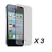 Screen Protector Voor iPhone 4 (3 Stuks)