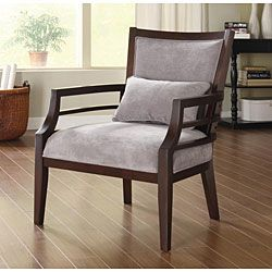 Philly Framed Chair Grey | Overstock™ Shopping - Great Deals on Living Room Chairs