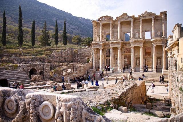 Ephesus of Izmir, Turkey,