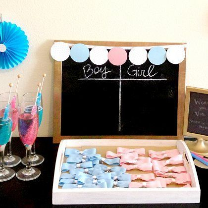 Amazing Gender-Reveal Baby Shower Ideas & Printables | Spoonful