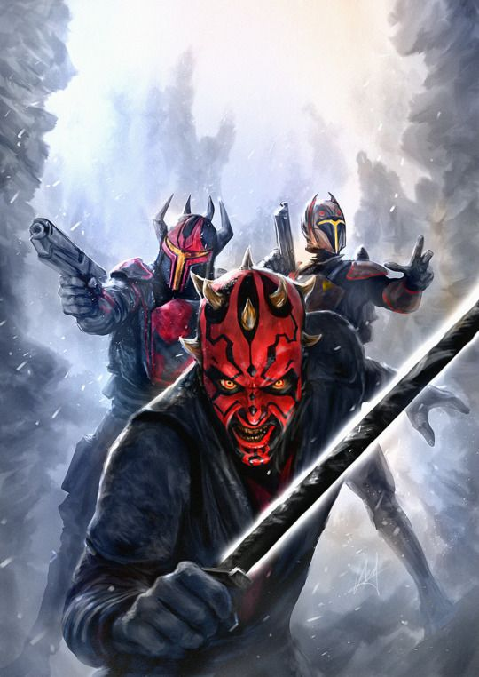 Star Wars - Darth Maul variant cover by Chris Scalf