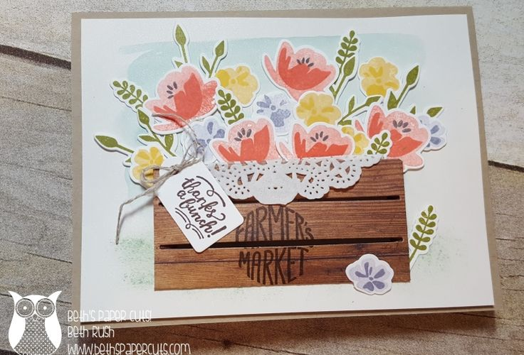 crate die used flat on a card