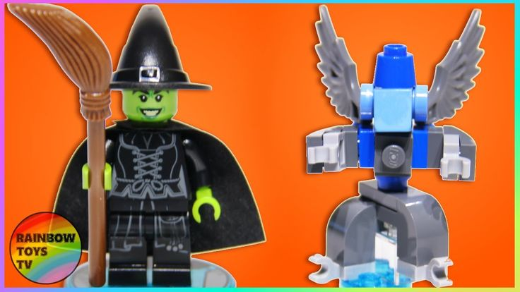 LEGO Dimensions - WICKED WITCH & Winged Monkey Fun pack stop motion Build video: https://youtu.be/wOLjLECXDY8