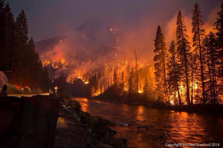 One of this summers blazes in Washington State.