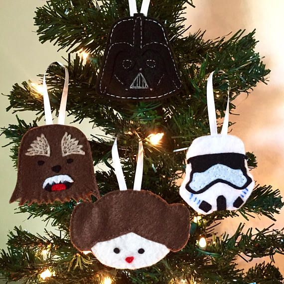 The 25 best Star wars christmas ornaments ideas on Pinterest