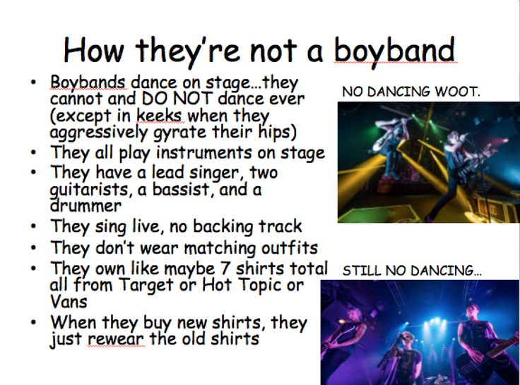 I WILL REPIN THIS BECAUSE THIS BECAUSE THEY DESERVE TO NOT BE CALLED A BOYBAND!!!!