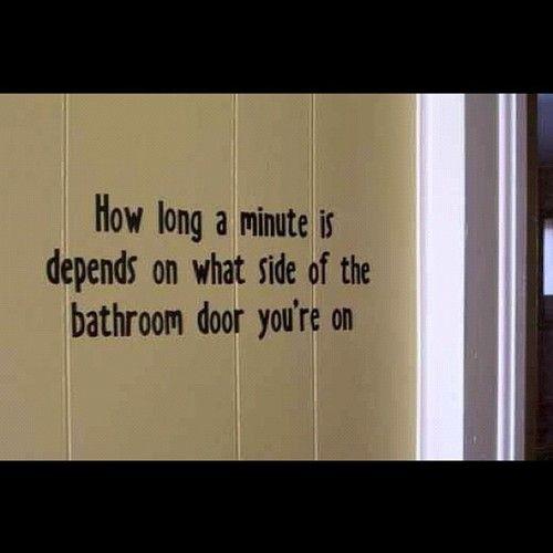 Bathroom Wall Humor: Bathroom Humor Quotes. QuotesGram