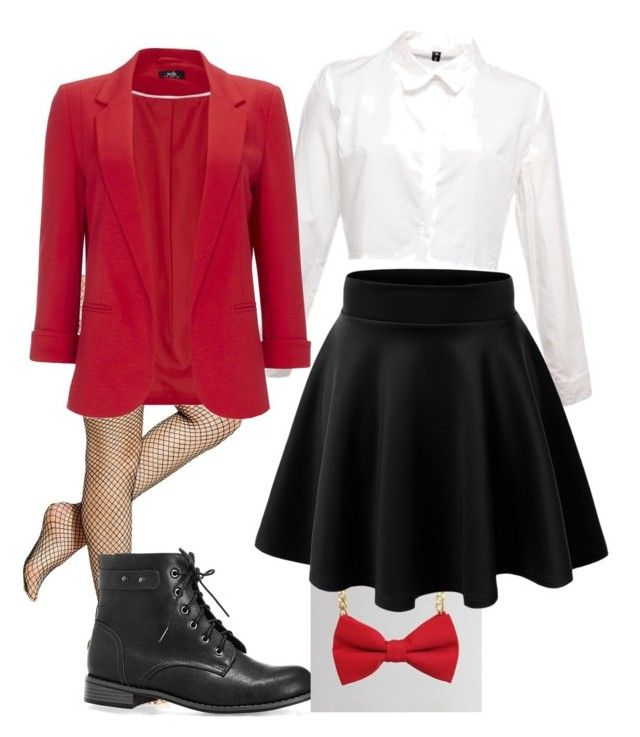 """""""circus ring master costume"""" by mackraepoe ❤ liked on Polyvore featuring Hue, Avenue, Wallis, women's clothing, women, female, woman, misses and juniors"""