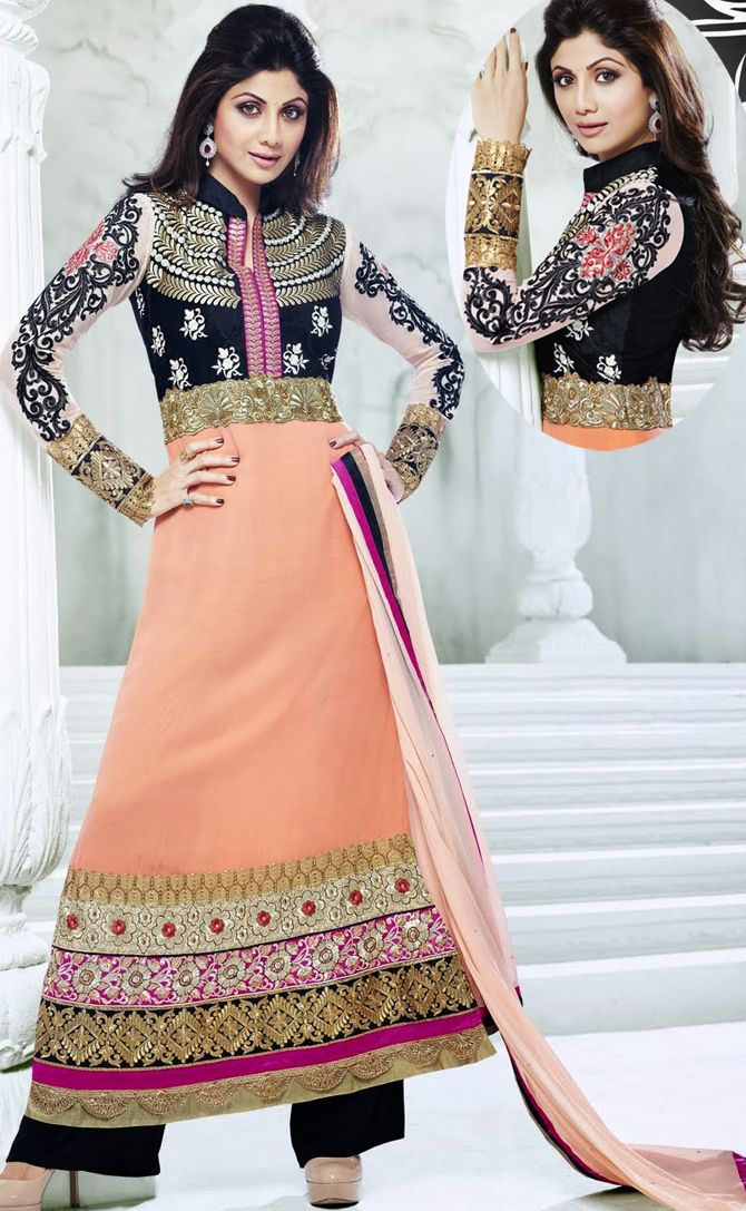 #ShilpaShetty wore this #Pakistani #Salwar #Kameez Design