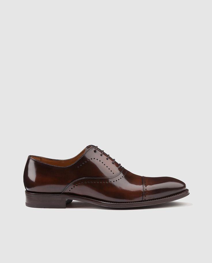 Zapatos de vestir de hombre Andrea Chenier marrones de piel · Andrea Chenier · Moda · El Corte Inglés