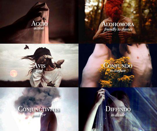 """Harry Potter A-Z challenge: ozzzymandius vs. ibuzoo """"S - Spells """""""