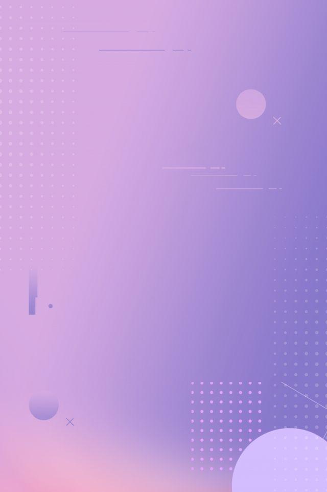 Beautiful Pink Purple Beautiful Gradient Geometric Objek Gambar Ungu Desain Poster