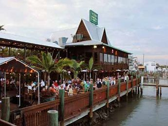 Doc Ford's Rum Bar & Grille Fort Myers Beach, Florida.