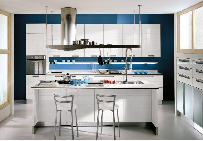 Stunning Cucina Con Isola E Tavolo Contemporary - Home Ideas ...