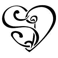 Tatuaggio di Cuore S+D, Unione tattoo - TattooTribes.com