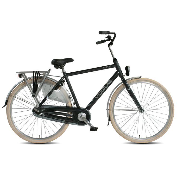 Vogue Stadsfiets Legend heren grijs 53cm Grijs  Description: De Vogue Legend Single Speed is een mooie herenfiets met een stoere en robuuste uitstraling en is zeer geschikt voor het gebruik in de stad. Het stalen frame is uiterst stabiel en de stevige bagagedrager is sterk genoeg voor het vervoeren van je dagelijkse boodschappen. Bepaal zelf je snelheid door meer of minder kracht op de pedalen te zetten. Door de LED batterijverlichting op fiets zowel voor als achter en de veilige reflectie…