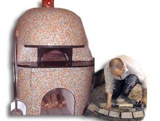 Neapolitan handmade brick ovens - Costruzione forni a legna pizzeria - Produzione forni a legna - Forni Napoletani