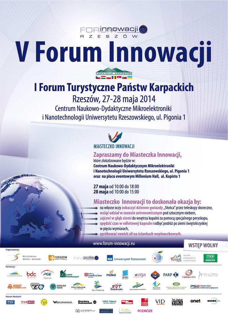 Layout konferencji V Forum Innowacji. Projekt: Studio Zakład, www.zaklad.pl