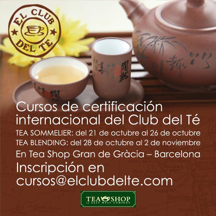 Cursos de certificación internacional del Club del Té